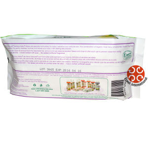 Unscent Baby Wipes Bamboo Wipes Transparent Packages pictures & photos