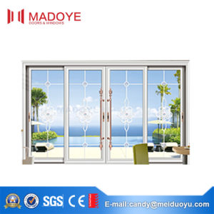 Hot-Sale Thermal Break Two Track Sliding Door pictures & photos