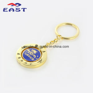 Customized Logo Souvenir Gold Plating Key Holder pictures & photos