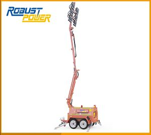 Dual Axles Mining Night Scan Vehicle-Mounted Portable LED Light Tower pictures & photos