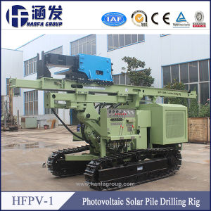 Hfpv-1 Photovoltaic Solar Spiral Pile Drilling Rig pictures & photos