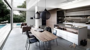 Australian Style Modern Kitchen Furniture Lacquer Kitchen Cabinets pictures & photos