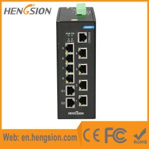8 Megabit Tx 2 Gigabit Tx Port Industrial Poe Switch pictures & photos