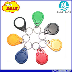 125kHz T5577 ABS RFID Keytag/Keychain/Keyfob for Door Lock pictures & photos