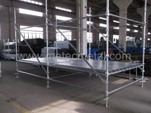Q345 / Q235 Standard for Cuplock Scaffold (ST 52 / ST 37) pictures & photos