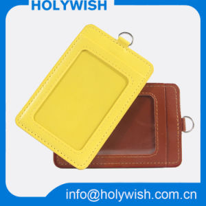 Wholesale Colorful Leather Badge Holder for Company pictures & photos
