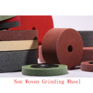 "8""X2"" 4p Klindex Polishing Cleaning PU Polishing Pad Roll Grinding Wheel pictures & photos"