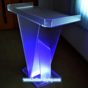 Custom Acrylic Lectern Podium Desk (BTR-M1029) pictures & photos