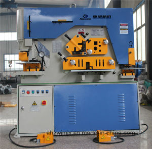 Q35y-25 Hydraulic Combined Punching and Shearing Machine pictures & photos