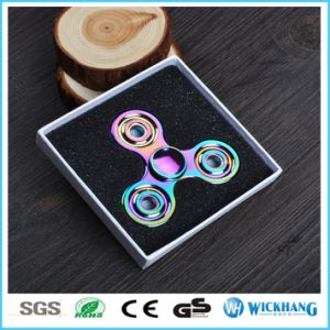 Hand Spinner Tri Fidget Ceramic Ball Desk Toy EDC Stocking Stuffer pictures & photos