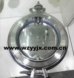 Pharmaceutical Discharge Butterfly Valve pictures & photos