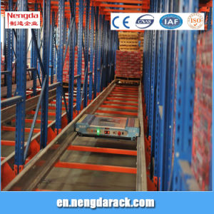 Automatic Pallet Shuttle Storage Rack for Warehouse pictures & photos