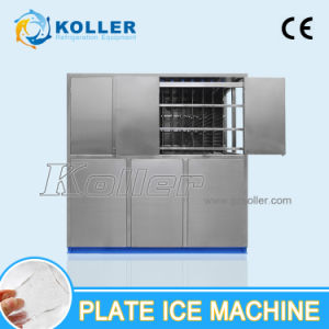 8 Tons/Day Top Quality Plate Ice Machine Control by PLC Program System pictures & photos