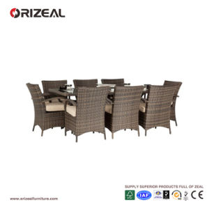 Outdoor Rattan 8-Seater Square Dining Set Oz-Or061 pictures & photos