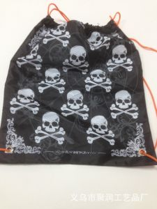 Polyester Drawstring Shopping Bag Backpack (YYDB047) pictures & photos