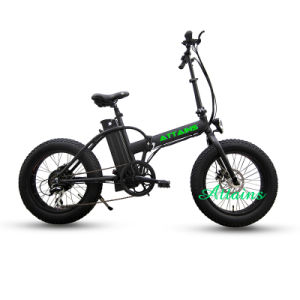 Samsung Lithium Battery Fat Tire Mountain Snow Folding E Bike pictures & photos