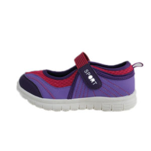 Mesh Fabric Air Sport Running Shoes for Children pictures & photos