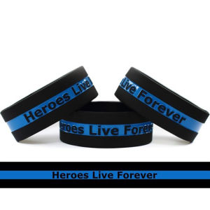 One Inch Silicone Wristband pictures & photos