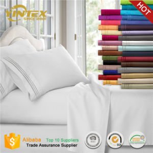 Cheap Wholesale Home Soft Like 1800tc Microfiber Bed Sheet Set pictures & photos