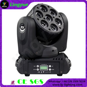 Beam 7X15W RGBW 4 in 1 Moving Head LED