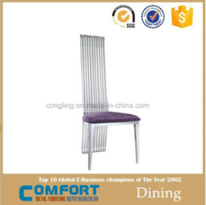 Strip with The Stainless Steel High Back Chair