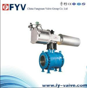 API 6D Pneumatic Welded Body Ball Valve pictures & photos