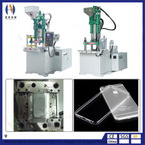 Full Automatic Plastic TPU Silicone Vertical Injection Molding Machine Phone Case Making Munufacturing Producing Machine pictures & photos