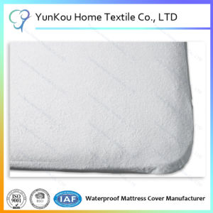 Extra Deep Waterproof Terry Towel Fitted Mattress Cover pictures & photos
