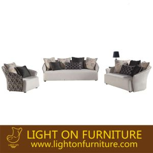 Living Room Hotel Furniture Modern Fabric Sofas for Sale (F855) pictures & photos