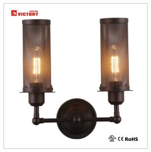 New Model Simple Black Metal Decorative Wall Lamp for Hotel pictures & photos