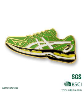 Custom Metal Sport Shoes Lapel Pin for Sale for Promotional pictures & photos