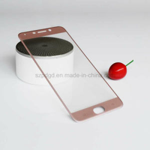 Phone Accessories 3D 9h Curved Edge Tempered Glass Screen Protector Film for Oppo R9 pictures & photos