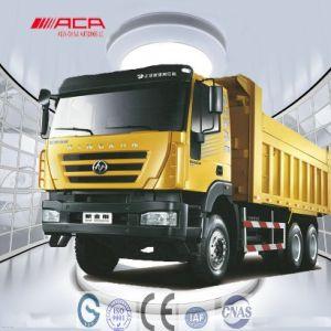 6X4 Flat-Roof Sih New Kingkan Dumper Truck pictures & photos