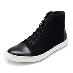 Men Genuine Leather Boots Fashion Sneaker Shoes for Men (AKPX26) pictures & photos