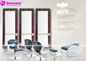 Popular High Quality Salon Mirror Barber Chair Salon Chair (P2019F) pictures & photos