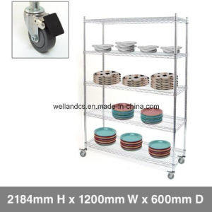 OEM Metro Store Heavy Duty Chrome Wire Shelving Factory pictures & photos