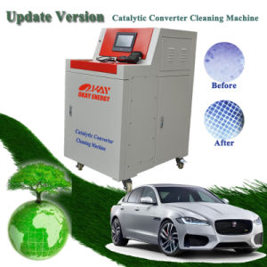 New Clog Catalytic Converter Carbon Cleaning Machine Catalytic Converter Cleaner pictures & photos