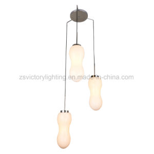 Newest Design Glass Chandelier Modern Pendant Lights Lamp with Ce pictures & photos