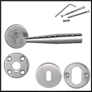 Wholesale Special Shape Aluminium Insert Door Handles pictures & photos