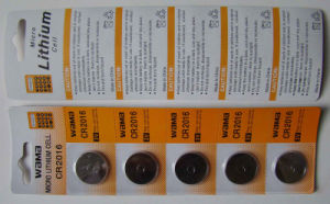 Lithium Manganese Button Cell Battery Cr2016 pictures & photos