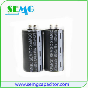 Hot Sale High Voltage Capacitor Electrolytic Capacitors pictures & photos