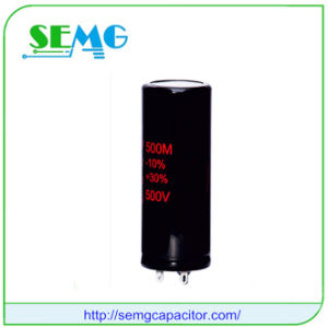 4700UF 100V 20% Aluminum Electrolytic Capacitor pictures & photos