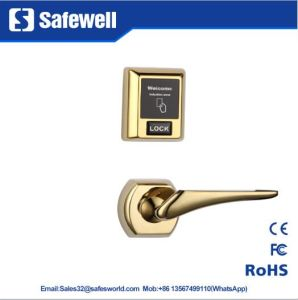Split Lock Zinc Alloy Electronic Hotel Door Lock with Different Color pictures & photos