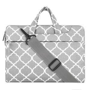 Mosiso Quatrefoil Style Neoprene (Canvas) Laptop Shoulder Bag for 13-13.3 Inch MacBook PRO pictures & photos