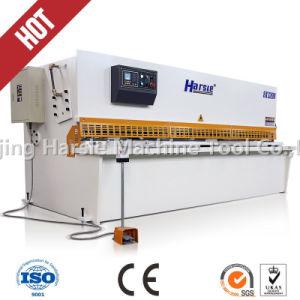Harsle CNC Hydraulic Swing Beam Shearing Machine pictures & photos