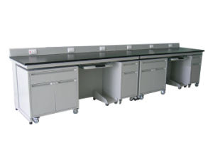 Typical All Steel Lab Bench with Mobile Cabinet (JH-SL022) pictures & photos