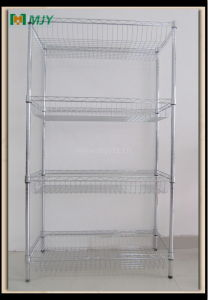 Chrome Wire Basket Shelving Mjy-Wsc06 pictures & photos