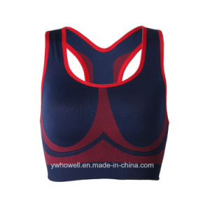 Women Running Gym Yoga Fitness Stretch Sport Bra pictures & photos
