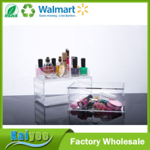 1 Tiers Combined Drawer Type Cosmetics Jewelry Storage Box pictures & photos