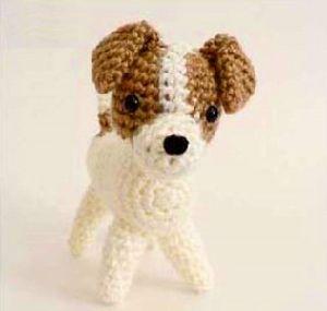 Hand Crochet Dog Doggie Toy for Baby Gift Handmade Amigurumi pictures & photos